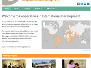 Ενημερωτική ιστοσελίδα για τα 400 Αναπτυξιακά Προγράμματα των Συνεταιρισμών Ευρώπης