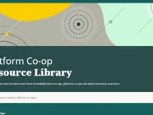 Συνεταιριστική Πλατφόρμα Βιβλιοθήκη πόρων